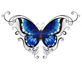 Tatouage papillon6